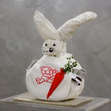Plienková torta zajac