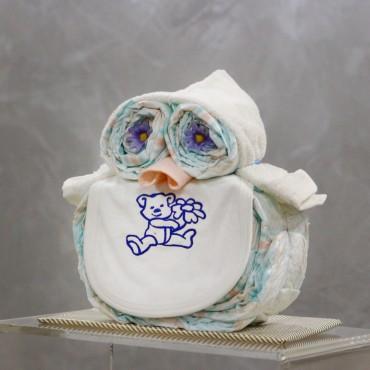 Plienková torta sova