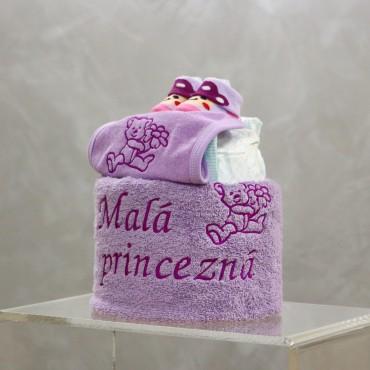 Plienková torta Malá princezná