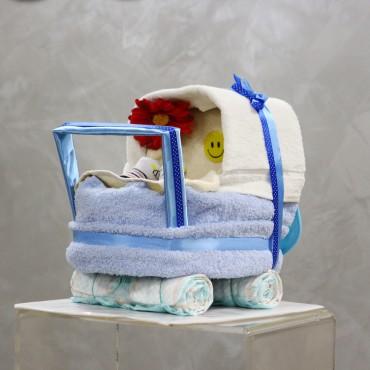 Plienková torta - Kočík modrý