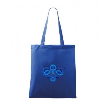 Folklórna taška modrá