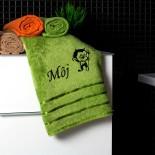Bambusový uterák s motívom