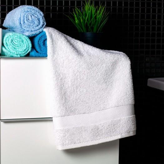 Bavlnený uterák biely