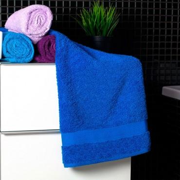 Ajoss Bavlnený uterák modrej farby 100x50cm