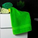 Bavlnený uterák zelenej farby