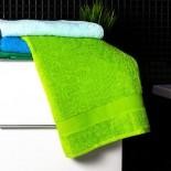 Bavlnená osuška zelenej farby