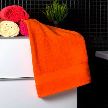 Ajoss Bavlnený uterák oranžovej farby 100x50cm