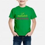 Detské humorné tričko s výšivkou: smajlík + nezbedník PROFESIONÁL