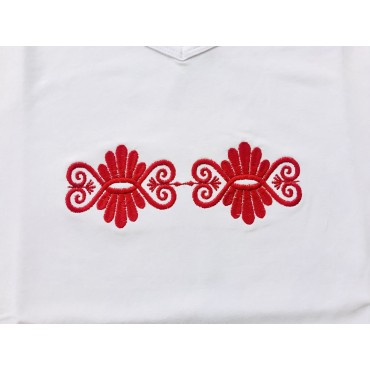 Folklórne tričko dlhý rukáv s výšivkou č.6