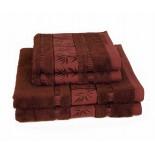 Bambusový uterák hnedý