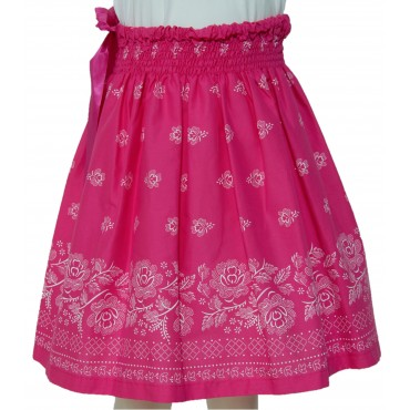 Folklórna sukňa stredná- ružová