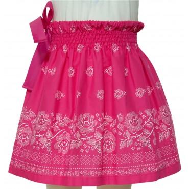 Folklórna sukňa malá- ružová